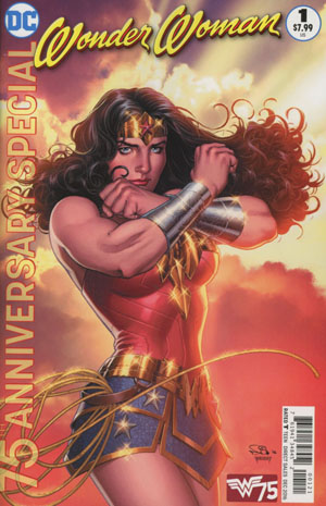 Wonder Woman 75th Anniversary Special #1 Cover B Variant Nicola Scott Cover