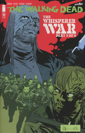 Walking Dead #159 Cover A Charlie Adlard & Dave Stewart