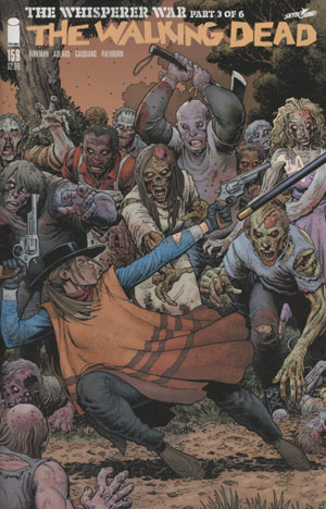 Walking Dead #159 Cover B Arthur Adams Connecting Part 3