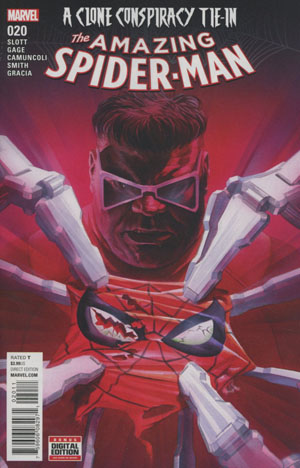 Amazing Spider-Man Vol 4 #20 Cover A 1st Ptg Regular Alex Ross Cover (Clone Conspiracy Tie-In)
