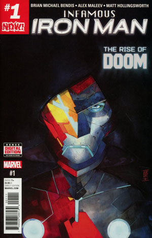 Infamous Iron Man #1 Cover A 1st Ptg Regular Alex Maleev Cover (Marvel Now Tie-In)