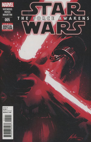 Star Wars Episode VII The Force Awakens Adaptation #5 Cover A Regular Rafael Albuquerque Cover