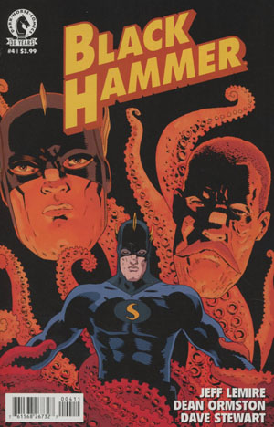 Black Hammer #4 Cover A Regular Dean Ormston Cover