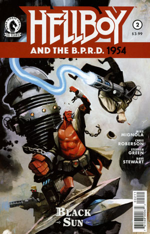 Hellboy And The BPRD 1954 Black Sun #2