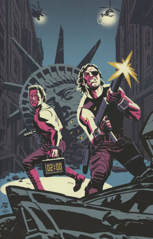 Big Trouble In Little China Escape From New York #1 Cover D Variant Michael Cho & Andy Belanger East Cover