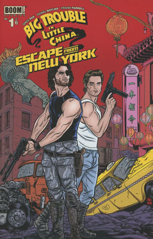 Big Trouble In Little China Escape From New York #1 Cover C Variant Michael Allred Subscription Cover
