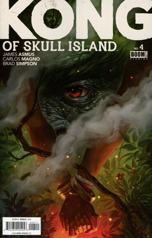 Kong Of Skull Island #4 Cover A Regular Nick Robles Cover