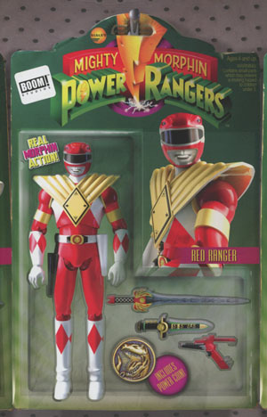 Mighty Morphin Power Rangers (BOOM Studios) #8 Cover B Variant David Ryan Robinson Action Figure Cover