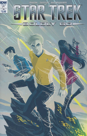 Star Trek Boldly Go #1 Cover A Regular George Caltsoudas Cover