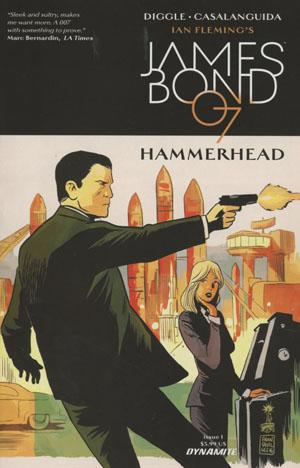 James Bond Hammerhead #1 Cover A Regular Francesco Francavilla Cover