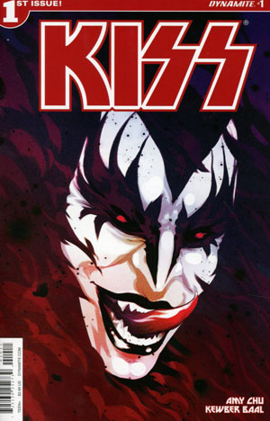KISS Vol 3 #1 Cover A Regular Goni Montes Demon Cover