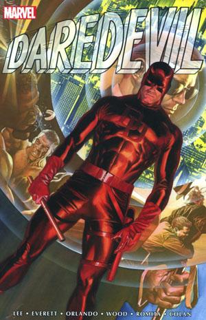 Daredevil Omnibus Vol 1 HC Book Market Alex Ross Cover