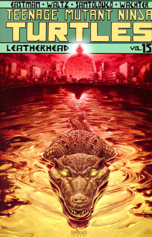 Teenage Mutant Ninja Turtles Ongoing Vol 15 Leatherhead TP