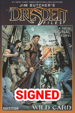 Jim Butchers Dresden Files Wild Card HC Limited Signed Edition