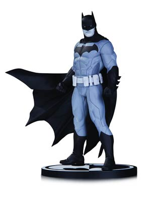 Batman Black & White Series Original Mini Statue By Jason Fabok