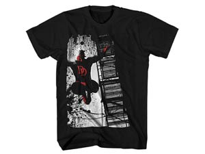 Daredevil Dare To Escape Black T-Shirt Large