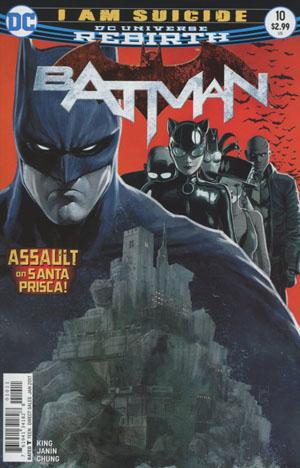 Batman Vol 3 #10 Cover A Regular Mikel Janin Cover