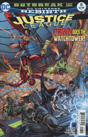 Justice League Vol 3 #8 Cover A Regular Fernando Pasarin & Matt Ryan Cover