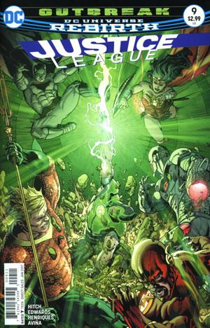 Justice League Vol 3 #9 Cover A Regular Fernando Pasarin & Matt Ryan Cover