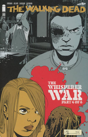 Walking Dead #160 Cover A Charlie Adlard & Dave Stewart