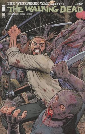 Walking Dead #160 Cover B Arthur Adams & Nathan Fairbairn