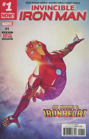 Invincible Iron Man Vol 3 #1 Cover A 1st Ptg Regular Stefano Caselli Cover (Marvel Now Tie-In)