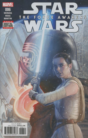 Star Wars Episode VII The Force Awakens Adaptation #6 Cover A Regular Paolo Rivera Cover