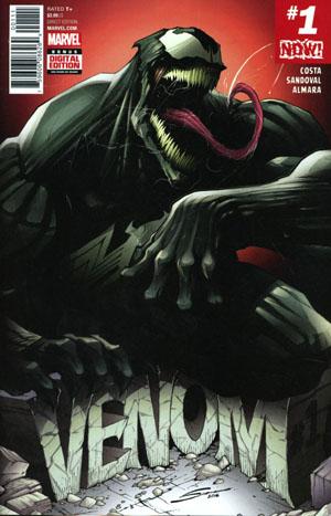 Venom Vol 3 #1 Cover A 1st Ptg Regular Gerardo Sandoval Cover (Marvel Now Tie-In)