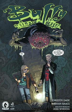 Buffy The Vampire Slayer Season 11 #1 Cover B Variant Rebekah Isaacs Cover