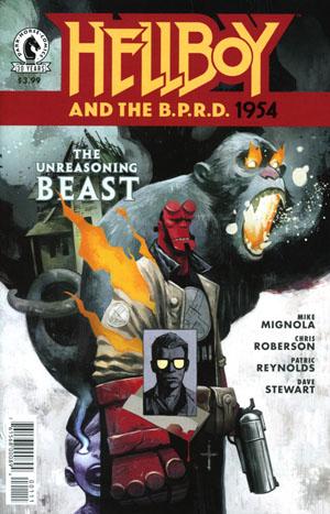 Hellboy And The BPRD 1954 Unreasoning Beast #1