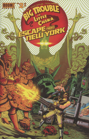 Big Trouble In Little China Escape From New York #2 Cover A Regular Daniel Bayliss Wraparound Cover