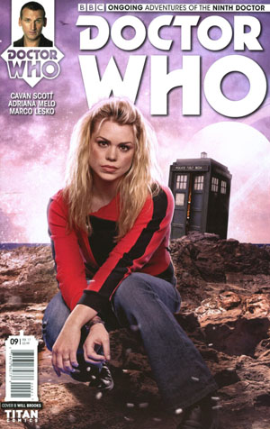 Doctor Who 9th Doctor Vol 2 #9 Cover B Variant Photo Cover