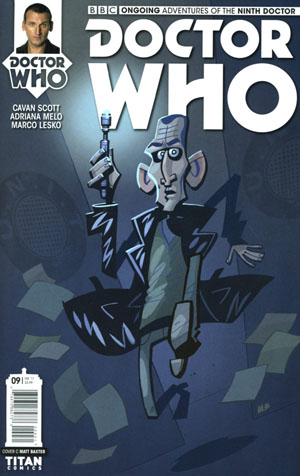 Doctor Who 9th Doctor Vol 2 #9 Cover C Variant Matt Baxter Cover