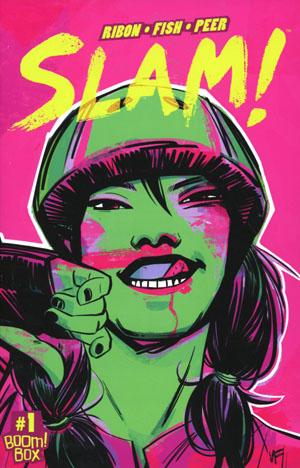 SLAM #1 Cover A 1st Ptg Regular Veronica Fish Cover