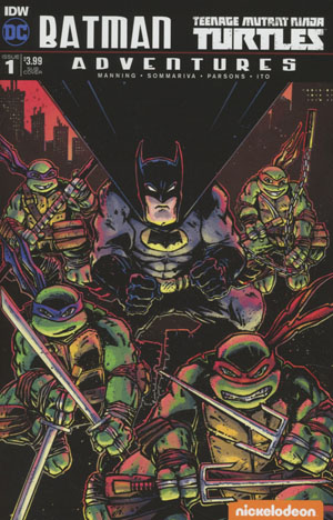 Batman Teenage Mutant Ninja Turtles Adventures #1 Cover C Variant Kevin Eastman Subscription Cover