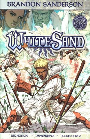 Brandon Sandersons White Sand Vol 1 HC Signed Edition