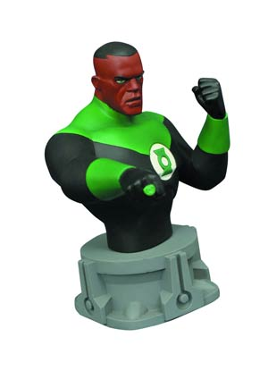 Justice League Animated Series Green Lantern Bust