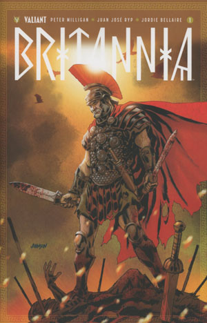Britannia #1 Cover F Incentive Dave Johnson Variant Cover