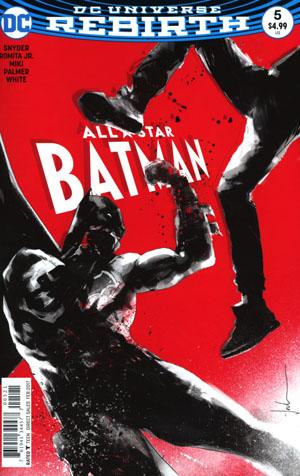 All-Star Batman #5 Cover C Variant Jock Cover
