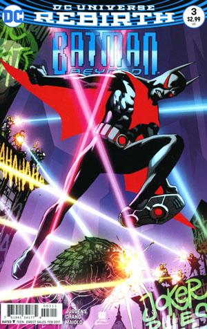 Batman Beyond Vol 6 #3 Cover A Regular Bernard Chang Cover
