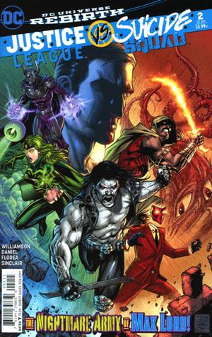 Justice League vs Suicide Squad #2 Cover A Regular Jason Fabok Cover