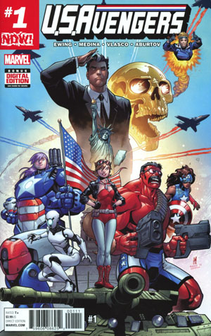 U.S.Avengers #1 Cover A Regular Paco Medina Cover (Marvel Now Tie-In)