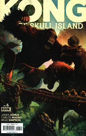 Kong Of Skull Island #6 Cover A Regular Nick Robles Cover