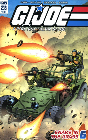 GI Joe A Real American Hero #235 Cover A Regular SL Gallant Cover