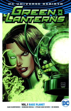 Green Lanterns (Rebirth) Vol 1 Rage Planet TP