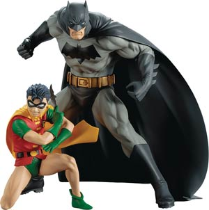 DC Comics Batman & Robin ARTFX Plus 2-Pack Statue