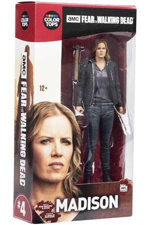 Color Tops Red Fear The Walking Dead TV Series Madison Clark 7-Inch Action Figure