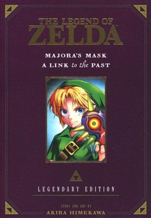 Legend Of Zelda Legendary Edition Vol 3 Majoras Mask & A Link To The Past GN