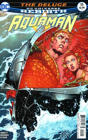 Aquaman Vol 6 #15 Cover A Regular Brad Walker & Andrew Hennessy Cover