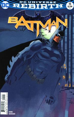 Batman Vol 3 #15 Cover B Variant Tim Sale Cover